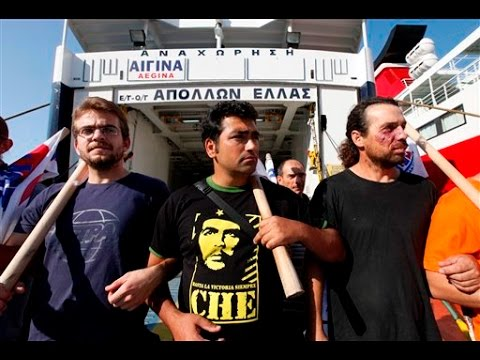 Greek Dockworkers Fight Privatization & For Worker Rights: Report By Port Union Leader Giorgos Gogos