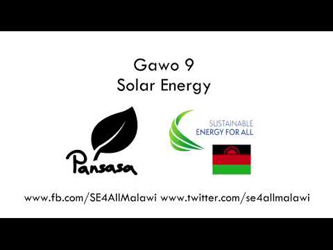 Pansasa - Season 1 Episode 9 - Solar Energy (Chichewa version)