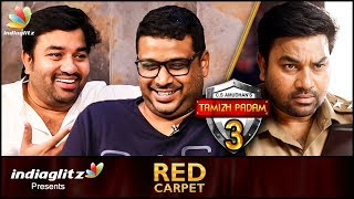 Tamil Padam 3 : Why Not ? | Shiva & C.S.Amudhan Laugh Riot Interview | Tamil Padam 2, Red Carpet