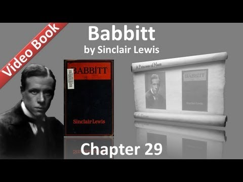 Chapter 29 - Babbitt by Sinclair Lewis