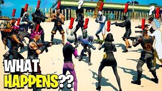 What Happens if ALL 22 Bosses Meet in Fortnite Season 7!