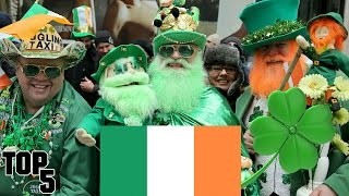 Top 5 Strange ST. PATRICK'S DAY Facts Top 10 Video