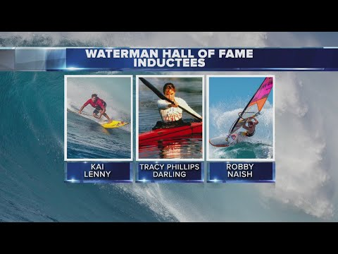 Robby Naish inducted into the Hawaii Waterman Hall of Fame