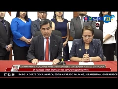 |EN VIVO| PRONUNCIAMIENTO DE ELIZABETH ARIAS, JUEZA DEL CASO COCTELES