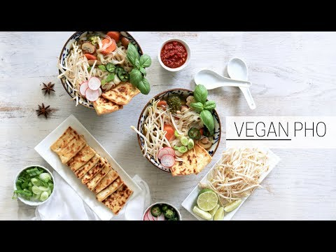 VEGAN PHO » easy vietnamese noodle soup