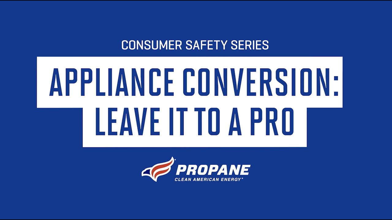 Consumer Safety Series: Appliance Conversion, Leave it to A Pro