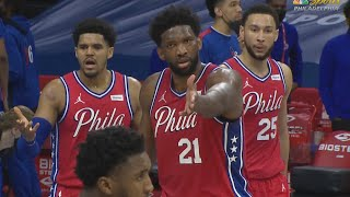 Mitchell Ejected! Embiid 40 Pts Forces OT Contested 3! 2020-21 NBA Season