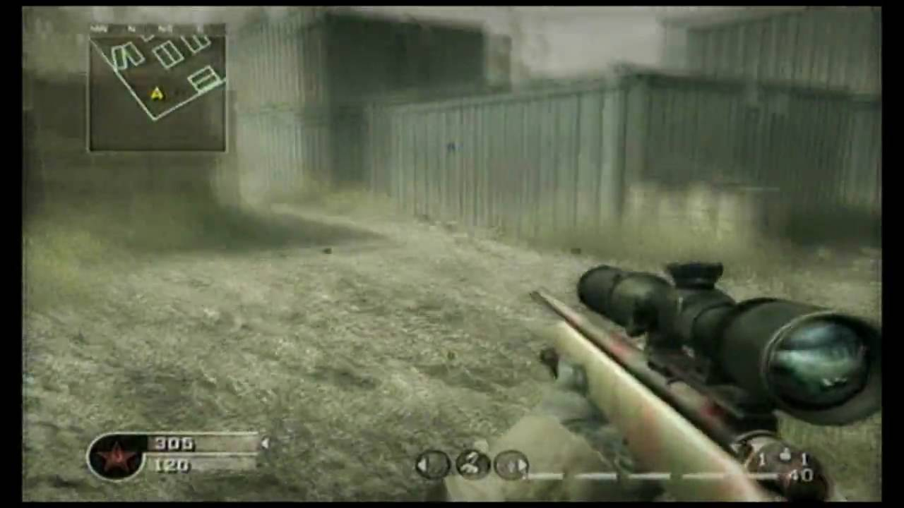 how to quickscope on call of duty 4 guide tutorial iimatxx rh youtube com call of duty 4 trophy guide call of duty 4 intel guide
