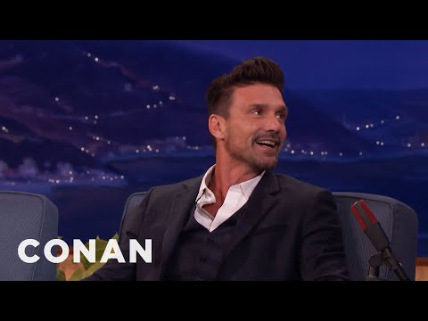 Frank Grillo Is A Superstar In China  - CONAN on TBS
