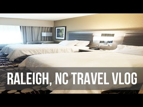 We Went To Raleigh! | Hilton Garden Inn Crabtree Valley + Doubletree By Hilton
