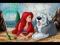 Disney princess Ariel puzzle game for kids /Best online  game for girls