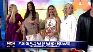 Wearing white after labor day – fashion forward or fashion faux pas?