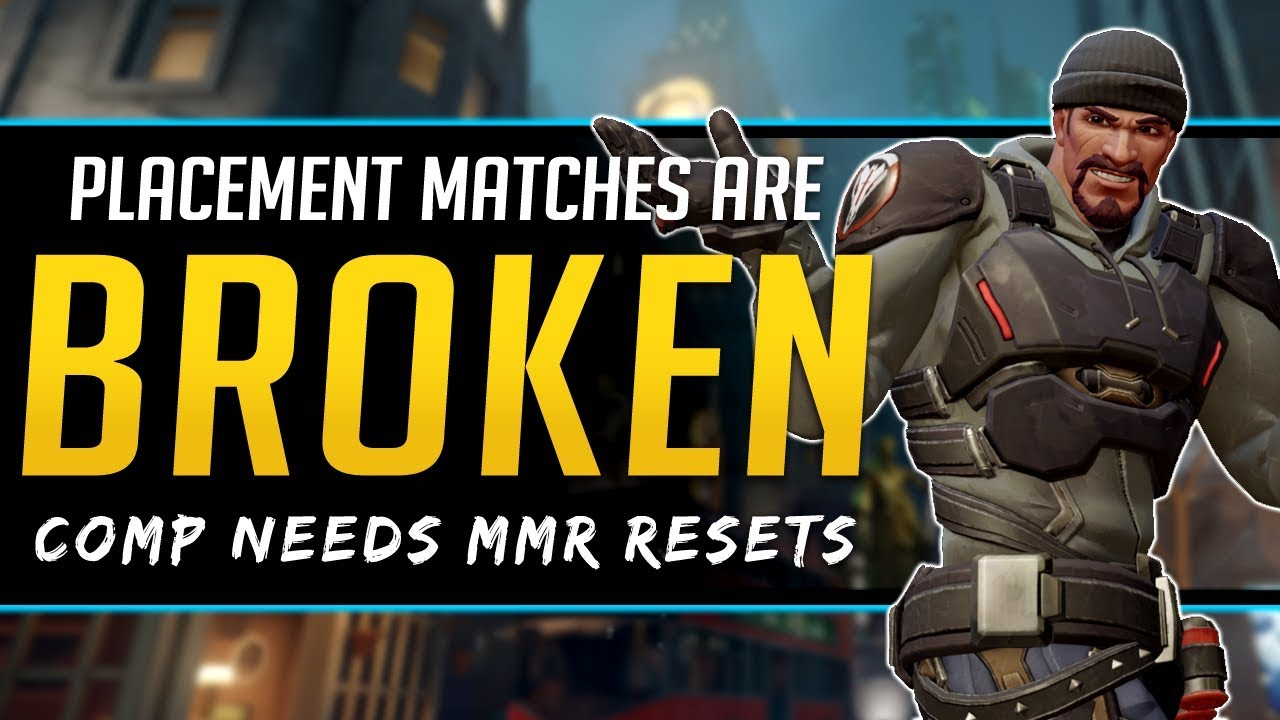 Overwatch Competitive Problems - Placements Broken & MMR Reset Needed