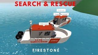 ROBLOX | Firestone Search & Rescue Ride Along