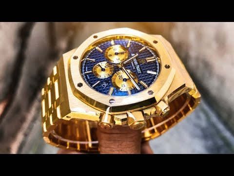 Audemars Piguet Royal Oak Chrono – 41mm New Style Chronograph In Yellow Gold