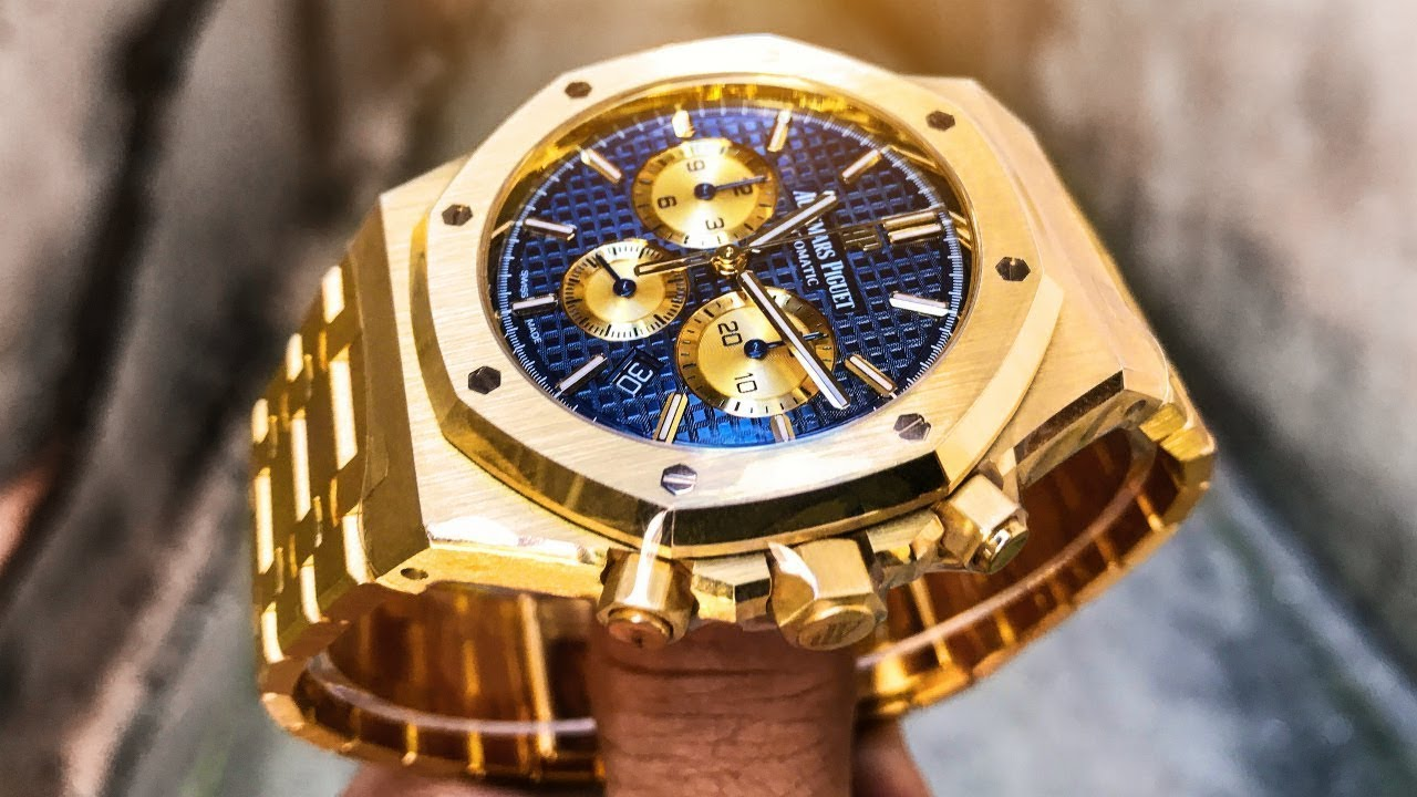 b60f50ebedde Audemars Piguet Royal Oak Chrono – 41mm New Style Chronograph in Yellow Gold