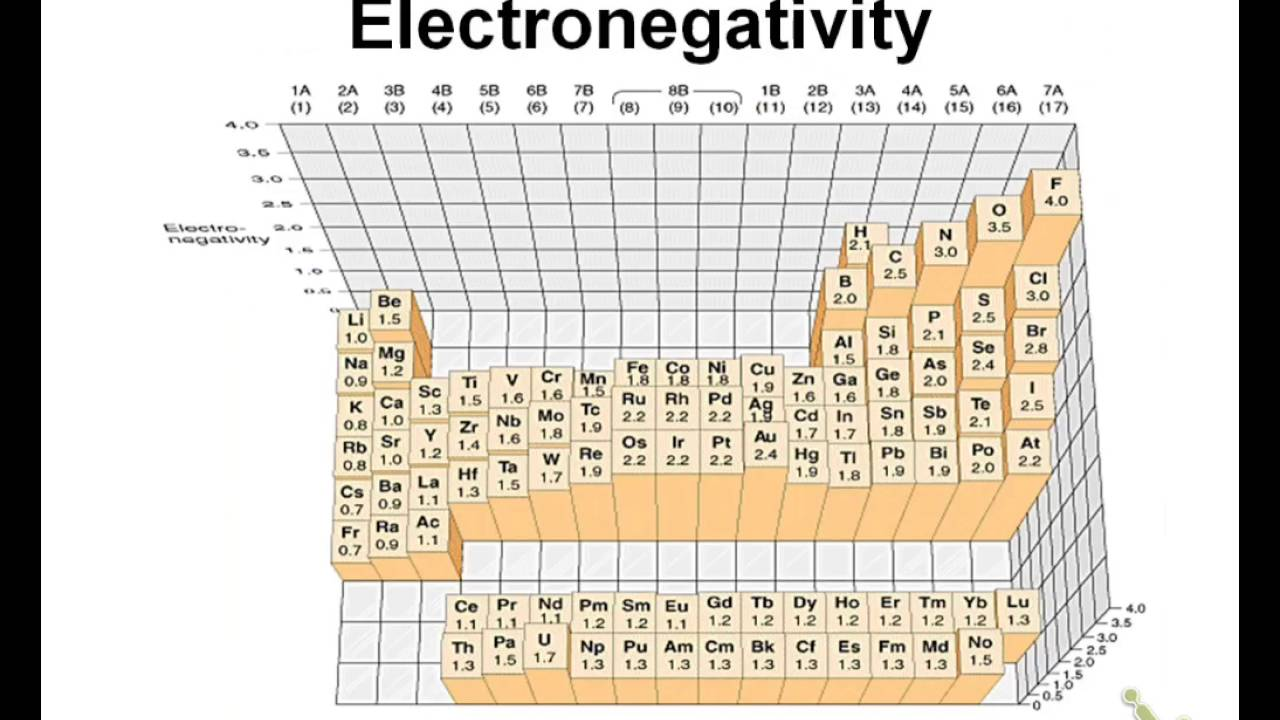 Electronegativity And Polarity Worksheet Answers Electronegativity