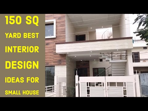 150 Gaj Newly Built Luxury House , 4 Bedroom Double Story Home With Luxury Interior And Wooden Work