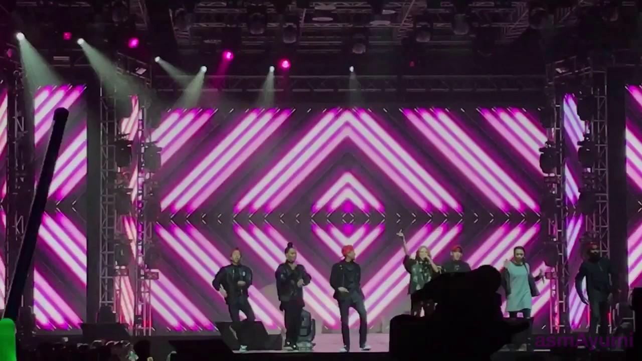 De Fam - #SUPERGIRLS live @ I Seoul U Concert in KL