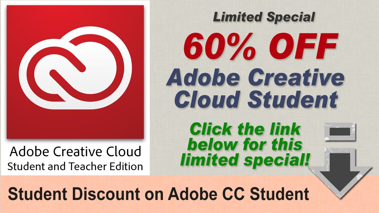 For 2017: How to Get Adobe Creative Cloud Student for 60% OFF ...