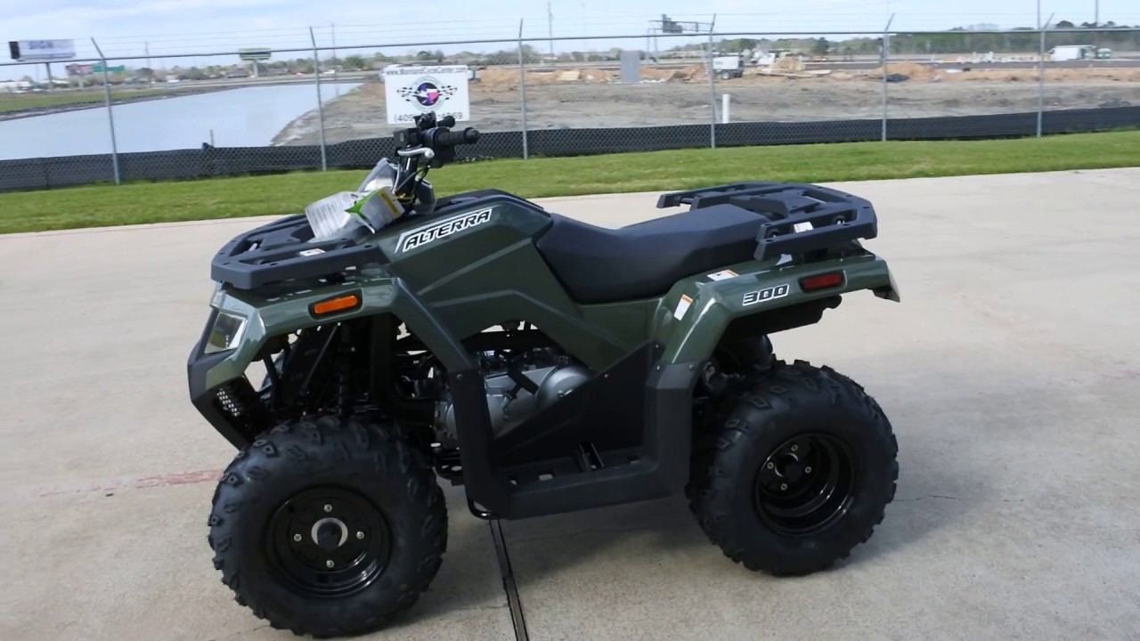 SALE $3,999: 2017 Arctic Cat / Textron Alterra 300 Green Overview and Review