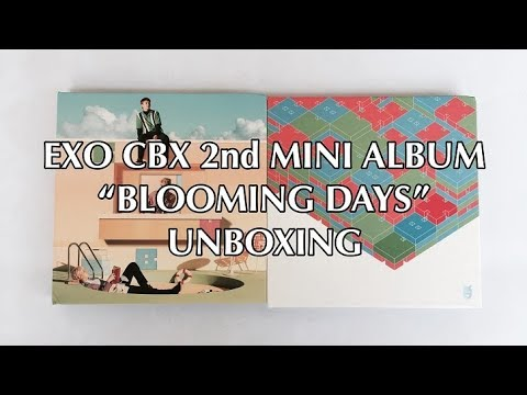 """EXO CBX 2nd MINI ALBUM """"BLOOMING DAYS"""" UNBOXING [Bahasa Indonesia]"""