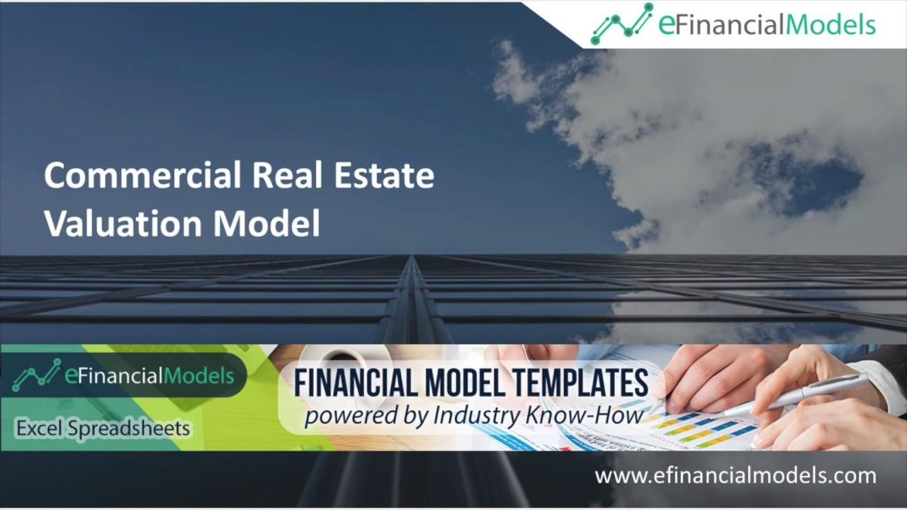 Commercial Real Estate Valuation Model   eFinancialModels