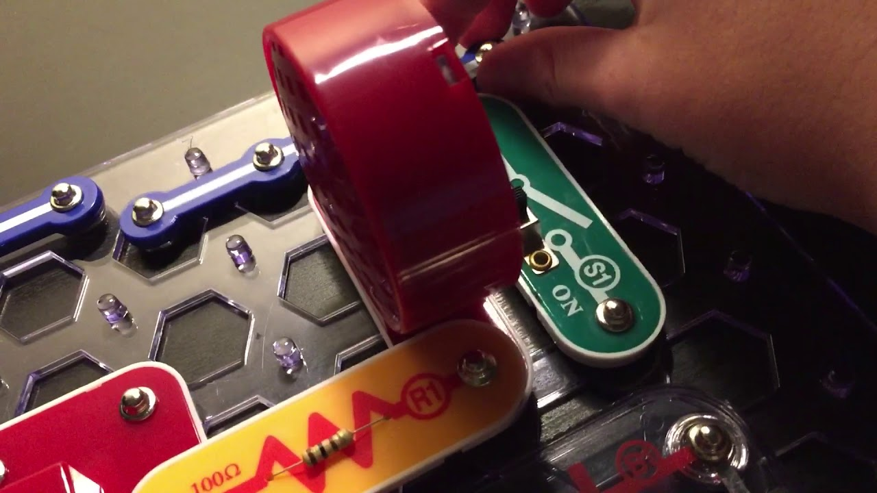 Clap Sounds Project 27 Snap Circuits Extreme Youtube