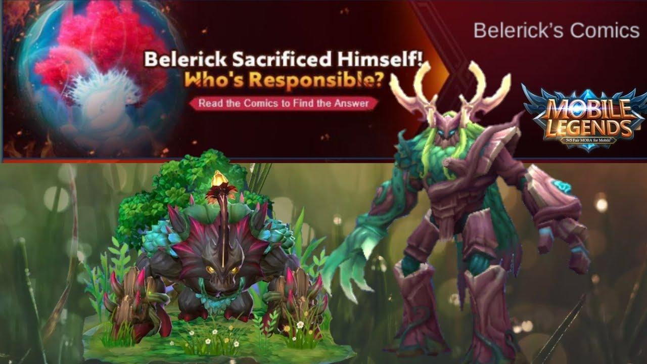 Belerick Comics Belerick Sacrificed Himself Mobile Legend Youtube