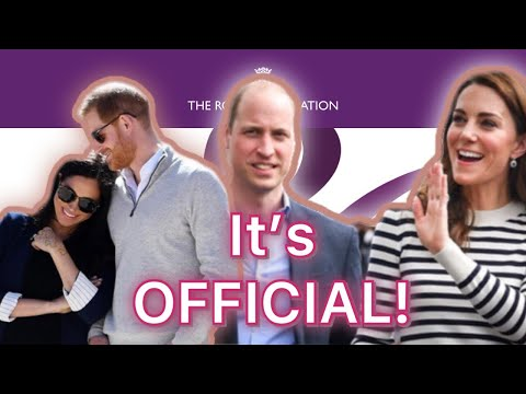 Prince Harry & Duchess Meghan's Names Officially Removed From Royal Foundation!