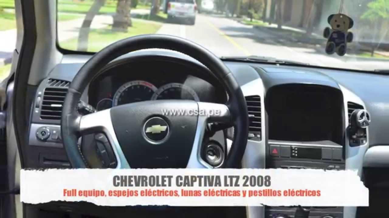 All Chevy 2008 chevrolet captiva review : Chevrolet Captiva LTZ 2008 Motor 3200 Color Plata Combustible ...