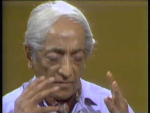 J. Krishnamurti - San Diego 1974 - Convers. 17 - Meditation, a quality of attention that pervades...