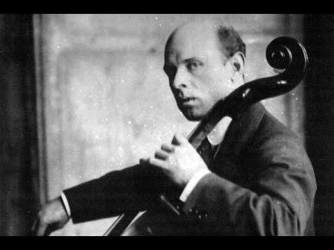 Bach Cello Suite No. 2 in D min. BWV 1008 Casals