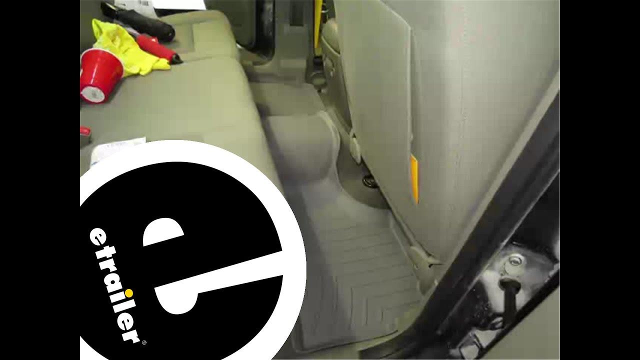 Nice Review Weathertech Floor Mats 2005 Jeep Liberty Wt460322   Etrailer.co