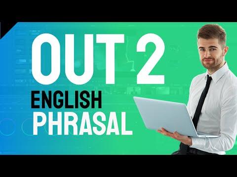 English phrasal verbs - out part 7
