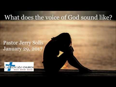 What Does the Voice of God Sound Like?