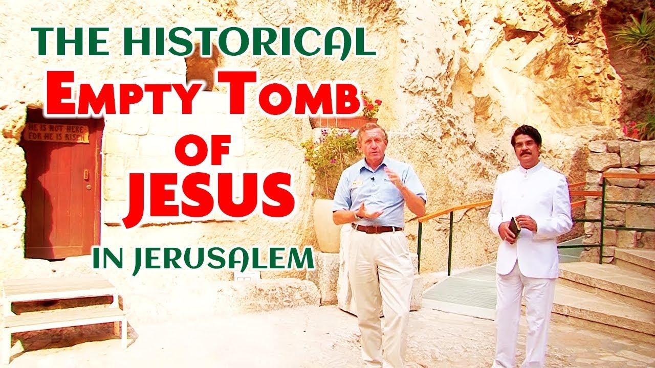 The historical Empty Tomb of JESUS in Jerusalem | Dr Jayapaul