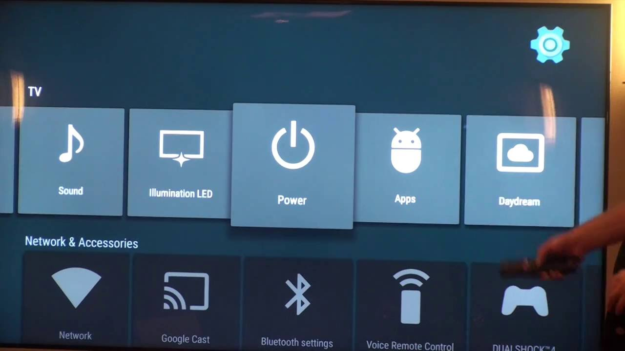Setting up a Sony XBR 4K TV for 3rd party control systems