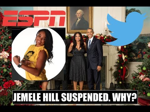 ESPN suspends Jemele Hill over NFL tweets