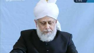 Juma khutbah Hamburg, Germany, 7th-oct-2011-persented by khalid Qadiani ahmadi-clip 3.flv