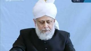 Juma khutbah Hamburg, Germany, 7th-oct-2011-persented by khalid Qadiani ahmadi-clip 3.flv