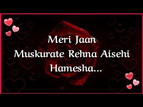 I Love You Jaan 💋| Most Romantic Love Shayari For Gf/Bf 💕