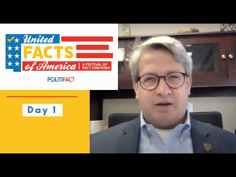 United Facts of America Day 1: Facts and democracy with Gabriel Sterling and Tia Mitchell