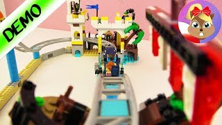 Lego Creator KOLEJKA GÓRSKA-PIRACI park rozrywki zestaw 31084 po polsku - szalona jazda na rekinie!