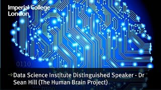 Data Science Institute distinguished speaker - Dr Sean Hill (The Human Brain Project)