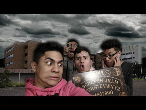PLAYING OUIJA BOARD IN OLD MERCY ABANDONED HAUNTED HOSPITAL! (Laredo TX!)