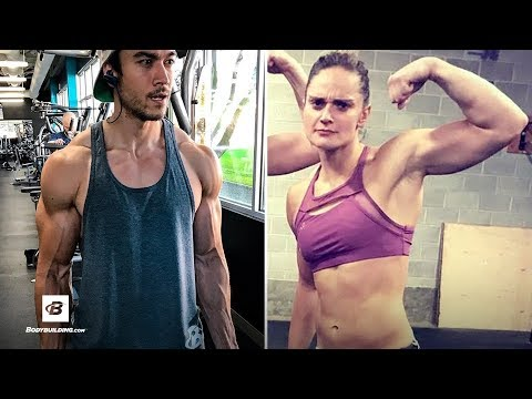 Bodybuilder Tries a CrossFit WOD