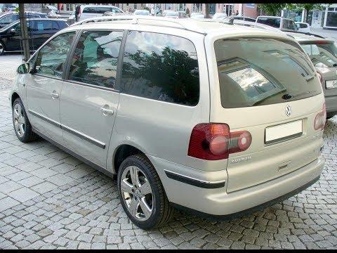 VW Sharan полная химчистка - Фольксваген Шаран Dry Cleaning