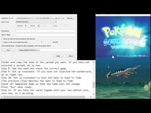 How To Do Generation 4 Wondercard Abuse On DeSmuMe! - Travel