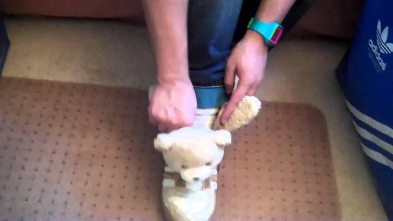 big sale 4ed6f b50ff Pauly P Adidas x Jeremy Scott Teddy Bear Shoe Review
